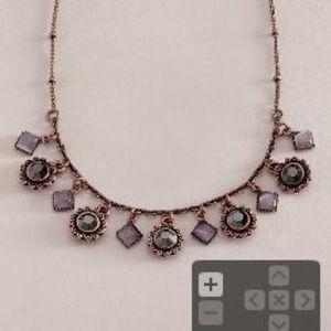 Lia Sophia Demure Copper Tone w/Lavender Charms